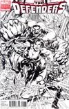 Defenders Vol 4 #1 Incentive Neal Adams Sketch Cover (Shattered Heroes Tie-In)