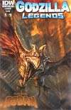Godzilla Legends #2 Cover B Regular Chris Scalf Cover