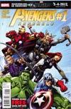 Avengers Assemble #1 1st Ptg Regular Mark Bagley Cover