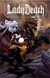 Lady Death Vol 3 #15 Regular Richard Ortiz Cover