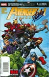 Avengers Assemble #1 DF Signed By Stan Lee
