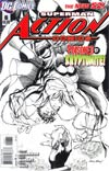 Action Comics Vol 2 #6 Cover E Incentive Andy Kubert Sketch Cover