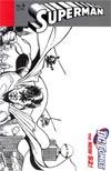 Superman Vol 4 #6 Incentive George Perez Sketch Cover
