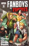 Fanboys vs Zombies #2 Regular Cover A Humberto Ramos