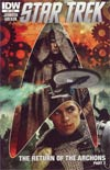 Star Trek (IDW) #10 Regular Tim Bradstreet Cover