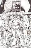 Fanboys vs Zombies #1 Cover F Incentive Ale Garza Virgin Sketch Cover