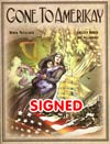 Gone To Amerikay HC Signed By Derek McCulloch And Colleen Doran - $10 will be donated to the CBLDF with purchase