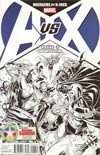 Avengers vs X-Men #2 Cover D Variant DCD Summit 2012 Sketch Cover