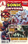 Sonic Universe #42 Regular Stephen Downer Cover