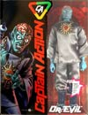 "Captain Action Deluxe Dr Evil Action Figure  <font color=""#FF0000"" style=""font-weight:BOLD"">(CLEARANCE)</FONT>"