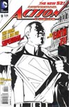 "Action Comics Vol 2 #9 Cover E Incentive Gene Ha Sketch Cover  <font color=""#FF0000"" style=""font-weight:BOLD"">(CLEARANCE)</FONT>"