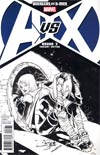 Avengers vs X-Men #3 Cover F Incentive Sara Pichelli Sketch Cover