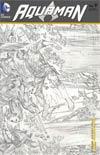 Aquaman Vol 5 #9 Incentive Ivan Reis Sketch Cover