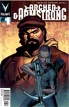 Archer & Armstrong Vol 2 #1 Variant Clayton Henry Pullbox Cover