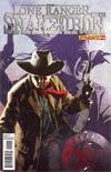 Lone Ranger Snake Of Iron #2 Cover A Regular Dennis Calero Cover