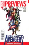 Marvel Previews Vol 2 #1 August 2012