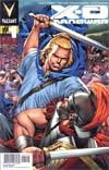 X-O Manowar Vol 3 #1 Cover H 2nd Ptg Wraparound Cover