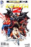Earth 2 #0 Regular Ivan Reis Cover