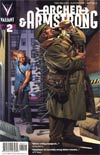 Archer & Armstrong Vol 2 #2 Regular Arturo Lozzi Cover