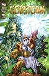Grimm Fairy Tales Presents Godstorm #0 Regular E-Bas Cover