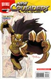 New Crusaders Rise Of The Heroes #2 Variant Ben Bates Hero Cover