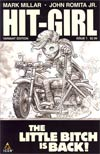Hit-Girl #1 Cover D Incentive John Romita Jr Sketch Cover