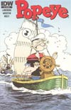 Popeye Vol 3 #2 Incentive Tony Millionaire Variant Cover