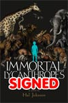 Immortal Lycanthropes HC Signed With Sketch Edition
