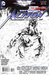 Action Comics Vol 2 #11 Cover E Incentive Rags Morales Sketch Cover