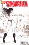 Vampirella Vol 4 #19 Incentive Fabiano Neves Black & White Cover