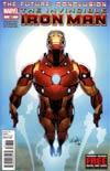 Invincible Iron Man #527 Regular Salvador Larroca Cover