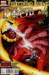 Mighty Thor #21 Regular Alan Davis Cover (Everything Burns Part 6)