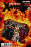 Uncanny X-Men Vol 2 #20 Regular Carlos Pacheco Cover