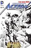 "Action Comics Vol 2 #12 Cover E Incentive Rags Morales Sketch Cover  <font color=""#FF0000"" style=""font-weight:BOLD"">(CLEARANCE)</FONT>"