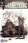 Archer & Armstrong Vol 2 #1 Incentive David Aja Variant Cover