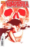 Vampirella Vol 4 #20 Incentive Paul Renaud Blood Red Cover
