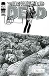 Walking Dead #100 DF Incentive Charlie Adlard Sketch Cover Signed By Charlie Adlard