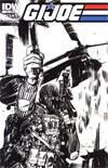 GI Joe Vol 5 #16 Incentive Tommy Lee Edwards Sketch Cover