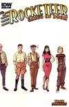 Rocketeer Cargo Of Doom #1 Incentive Chris Samnee Character Design Sketch Variant Cover