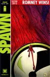 Spawn #225 Regular Mitt Romney Cover