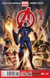 Avengers Vol 5 #1 Cover A 1st Ptg Regular Dustin Weaver Cover