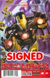 Iron Man Vol 5 #1 DF Signed By Greg Land