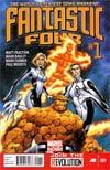 Fantastic Four Vol 4 #1 Regular Mark Bagley Cover