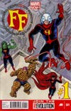 FF Vol 2 #1 Cover A Regular Mike Allred Cover