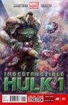 Indestructible Hulk #1 Regular Leinil Francis Yu Cover