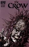 Crow Vol 4 #5 Regular Kyle Hotz Cover