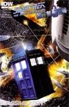 Star Trek The Next Generation Doctor Who Assimilation2 #7 Regular JK Woodward Cover
