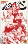 Masks #1 DF Exclusive Ardian Syaf Blood Red Cover