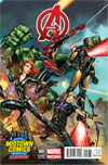 Avengers Vol 5 #1 Midtown Exclusive J Scott Campbell Connecting Variant Cover (Part 3 of 3)