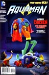 Aquaman Vol 5 #12 Variant Robot Chicken Cover